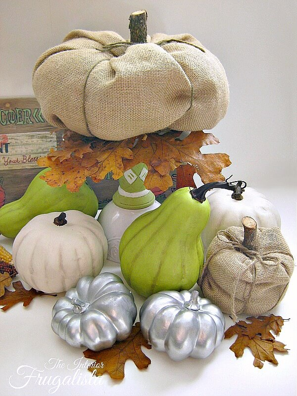 DIY Faux Fall Pumpkin Ideas