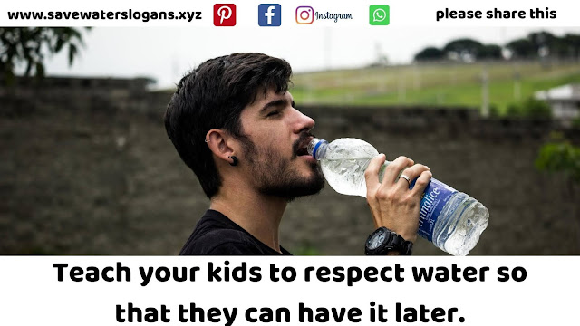 save the water quotes images