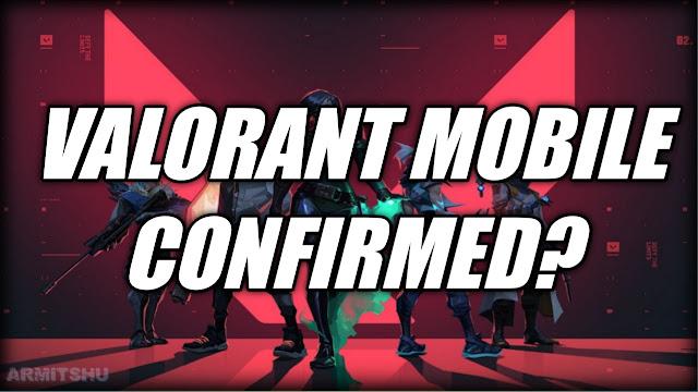 Valorant mobile release date