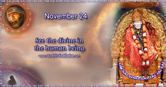 My Sai Blessings - Daily Blessing Messages-Shirdi Sai Baba Today Message 24-11-19