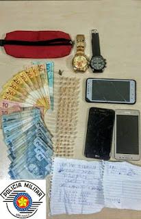 POLÍCIA MILITAR PRENDE DUPLA POR TRÁFICO EM REGISTRO