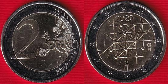 Finland 2 euro 2020 - University of Turku