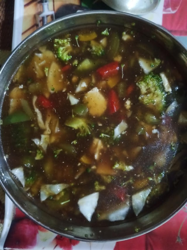 Healthy Vegetable Manchow Soup