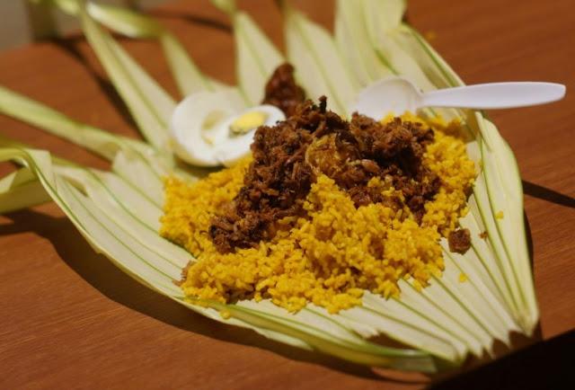 Nasi Kuning Saroja