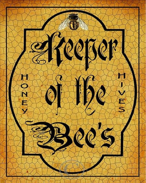 POSTER: EL GUARDIÁN DE LAS ABEJAS - POSTER: KEEPER OF THE BEES.