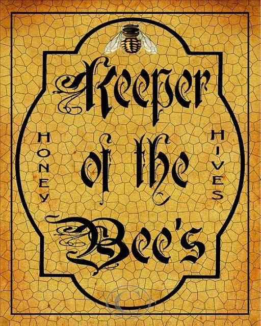 POSTER: EL GUARDIÁN DE LAS ABEJAS - POSTER: KEEPER OF THE BEES.