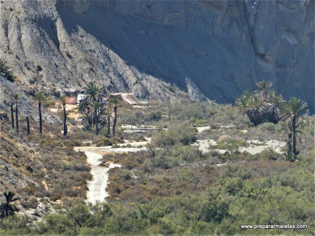 ruta de senderismo por el desierto Tabernas Almeria