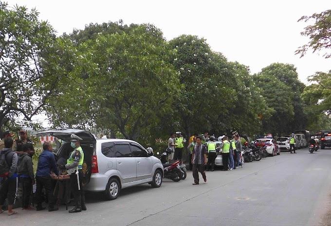 Razia Samsat Cikokol, Penuggak Pajak Kendaraan Di Tilang