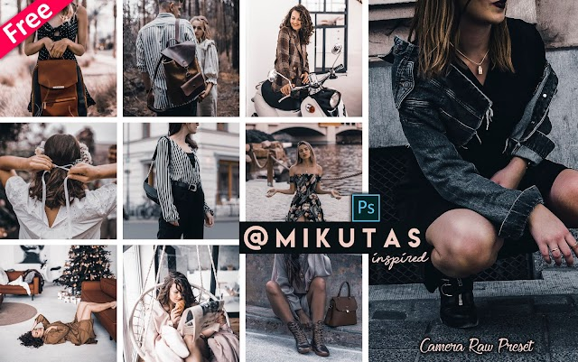 Download Mikutas Inspired Camera Raw Presets for Free | How to Edit Photos Like Jacqueline Mikuta in Photoshop cc