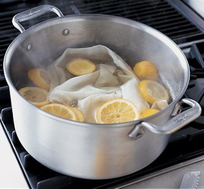 Limon ile zor lekeleri çıkarma yöntemleri