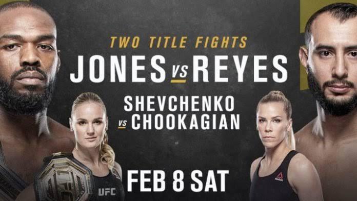 UFC 247: Jones vs Reyes Live Stream