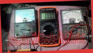 Avometer Multimeter Multitester