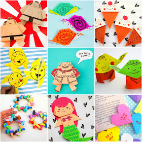 50+ cute and Easy Origami and Kirigami Projects for Kids for all seasons!