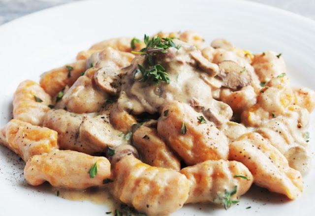 Sweet Potato Gnocchi #vegan #dinner