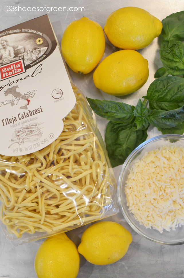 33 Shades of Green: Spaghetti with Lemon & Olive Oil