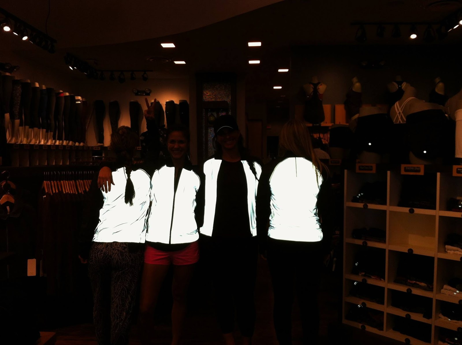 lululemon bright bomber jacket lit up