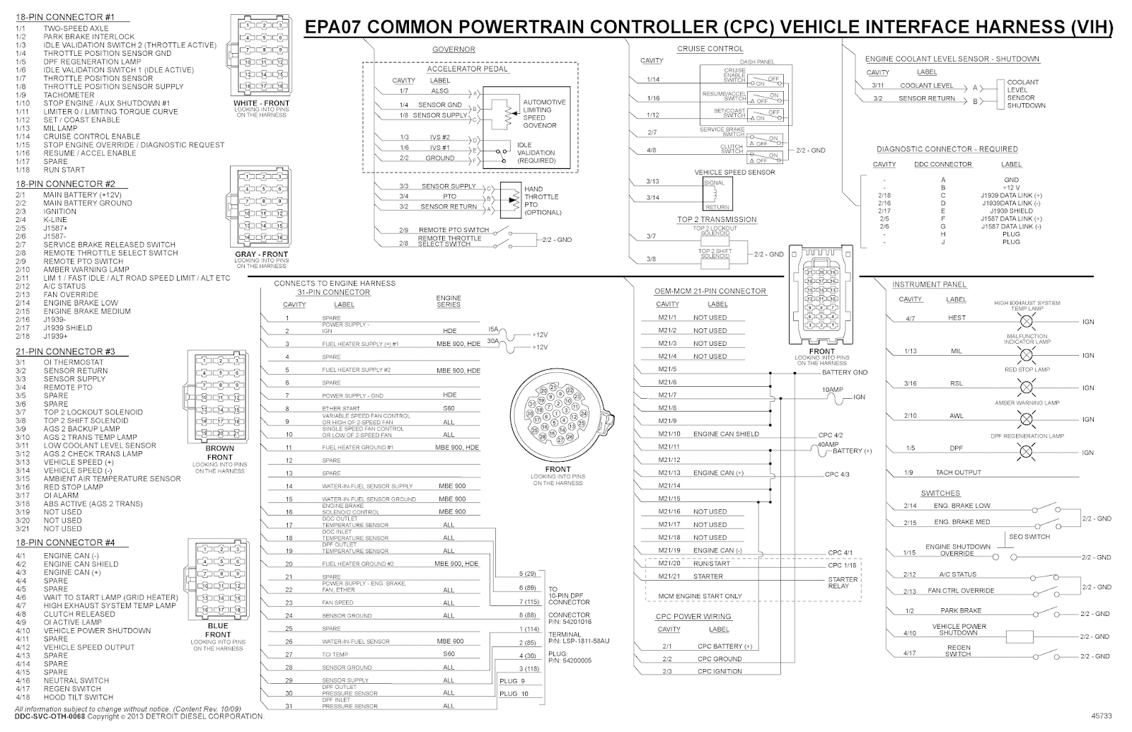 Ddec 1 Wiring Diagram
