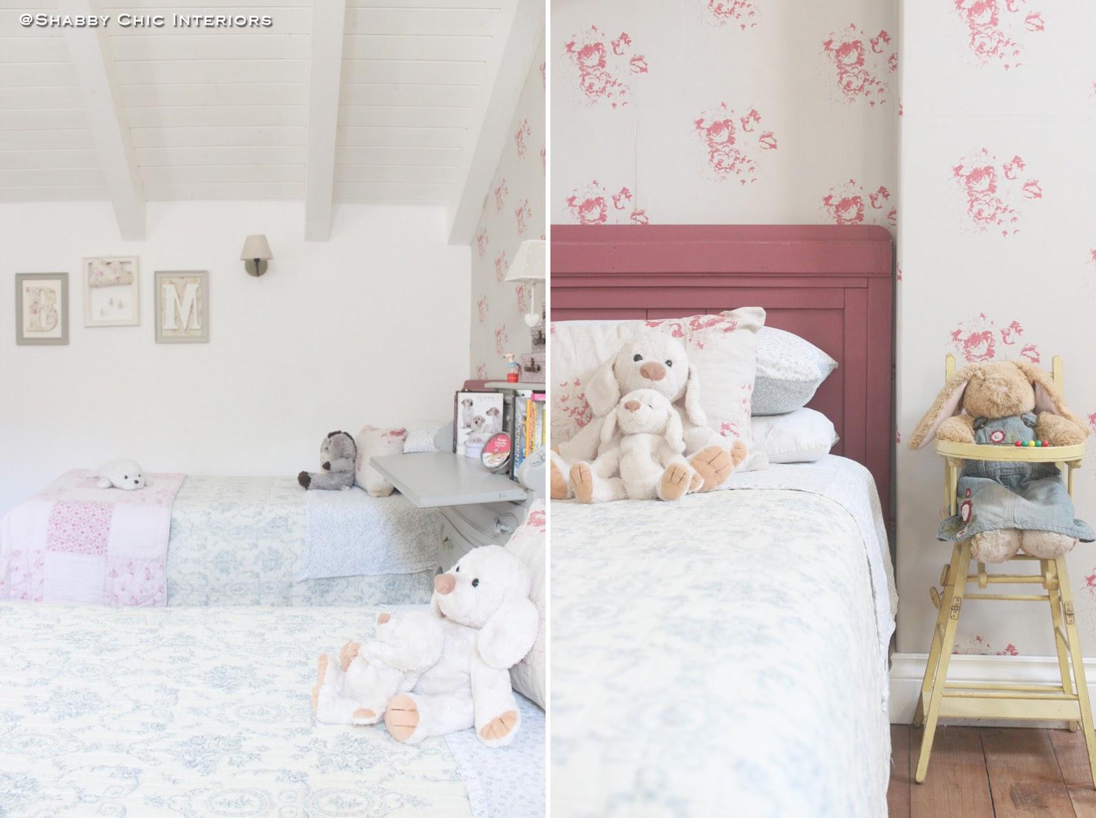 Boutis provenzale shabby chic interiors - Cameretta stile provenzale ...