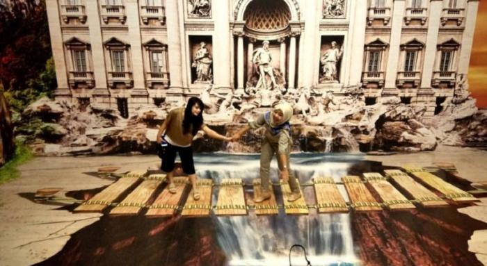 Wisata Old City 3D Trick Art Museum semarang