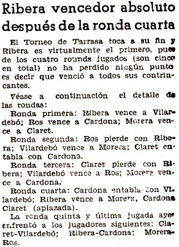 Recorte de El Mundo Deportivo, 8/7/1936