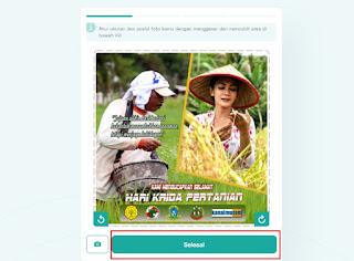 cara buat twibbonize hari krida pertanian 3- kanalmu