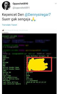 Nama asli Denny Siregar adalah Denny Zulfikar Siregar