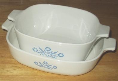 History S Dumpster Corning Ware Cornflower Cookware
