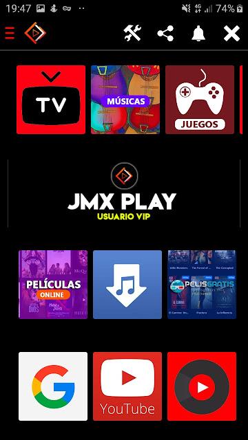 تحميل تطبيق JMX TV APK لمشاهدة القنوات الاجنبية و القنوات بروميوم مجانا 2020