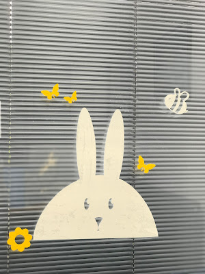 Emma in Bromley, Easter 21, Bunny Window Clings - Stickers 4 Walls