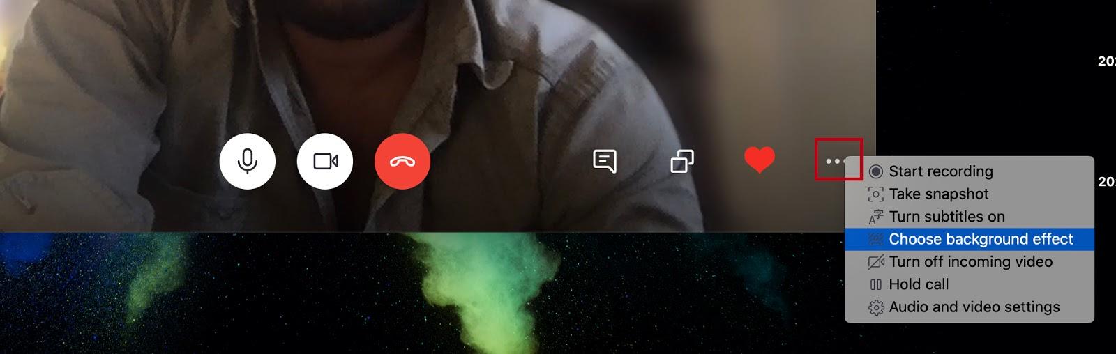 Skype Messenger Add BG