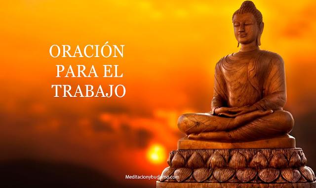 Oración a Buda para el trabajo