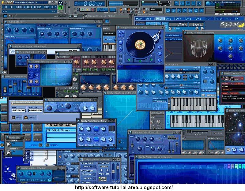 Software Tutorial Area: Free Download FL Studio 10 0 8 Music