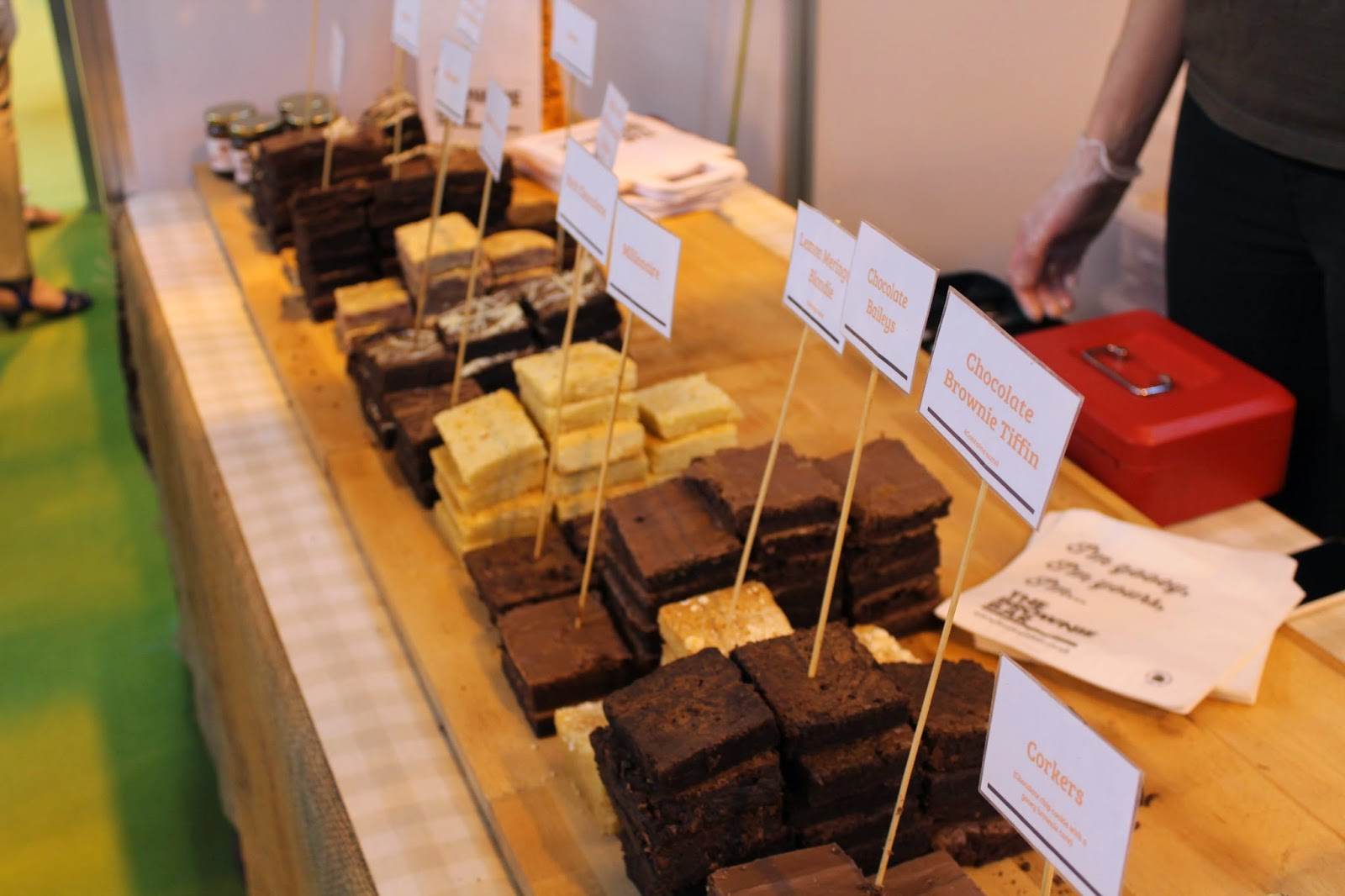 BBC Good Food Show Summer - NEC Birmingham - The Brownie Bar