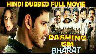 Dashing CM Bharath (Bharat Ane Nenu) Movie 720p HD Original Hindi Dubbed Download
