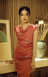 Hạ Vi gợi ý váy hè thêu hoa