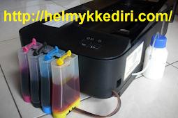 Mengatasi selang infus printer masuk angin