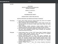 Permendikbud No: 23 Tahun 2015 Ttg Penumbuhan Budi Pekerti