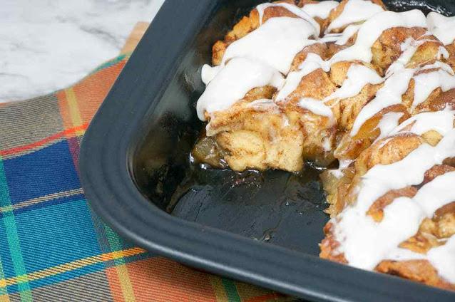 Easy Apple Cinnamon Bake