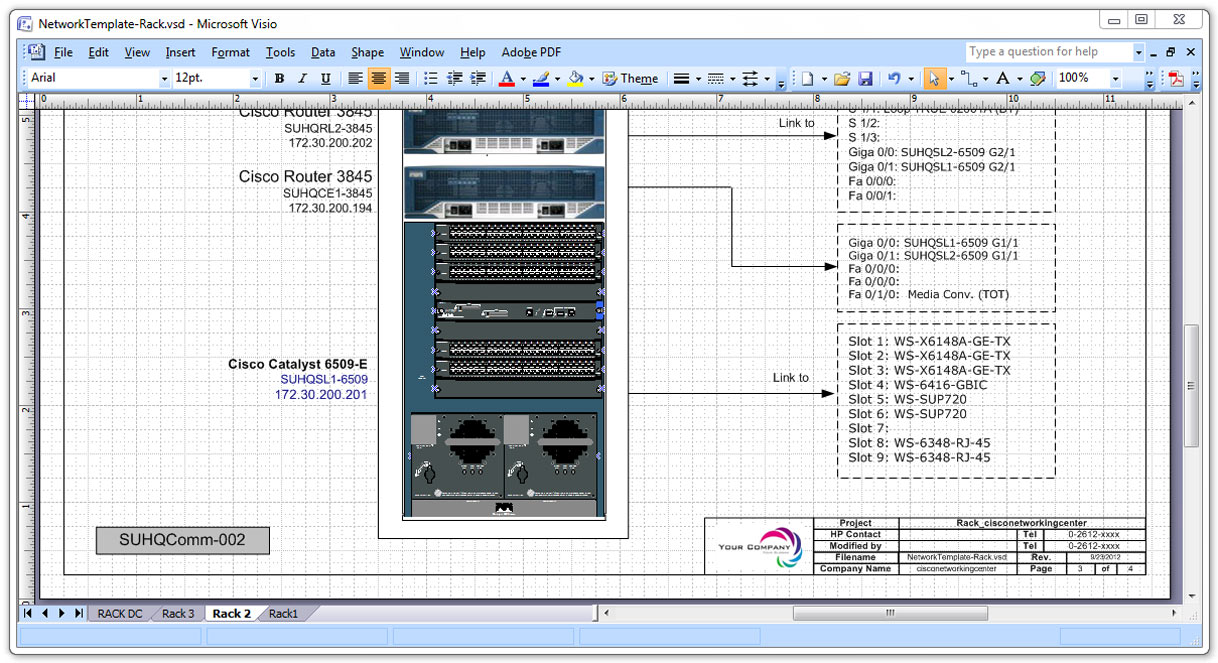 Network Diagram Templates ~ Cisco Networking Center