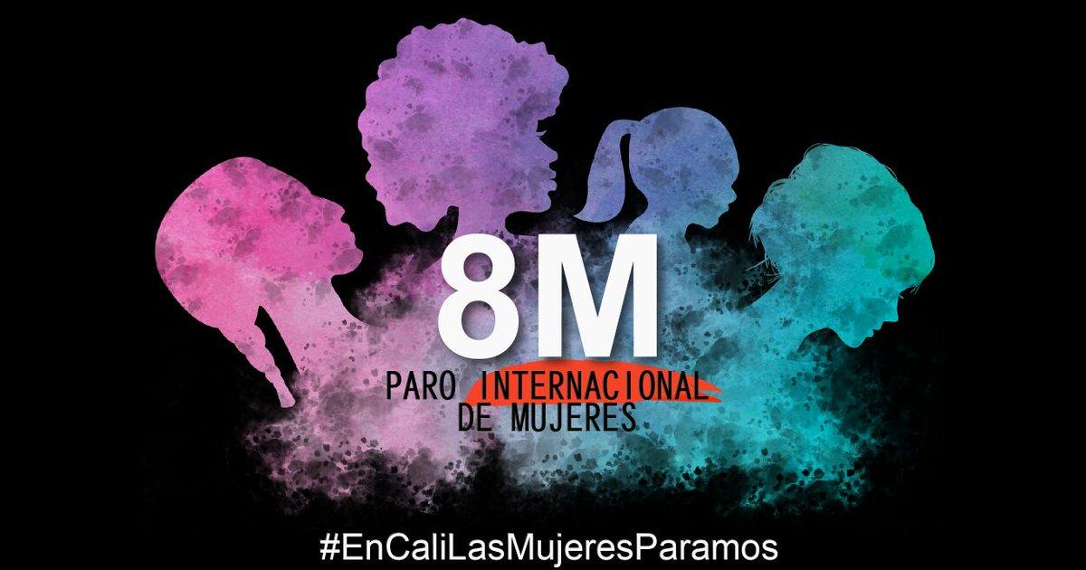 #EnCaliLasMujeresParamos este miércoles 8pm