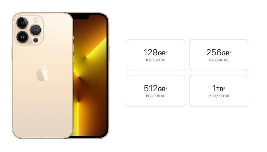 Apple iPhone 13 Pro Max Philippines Prices