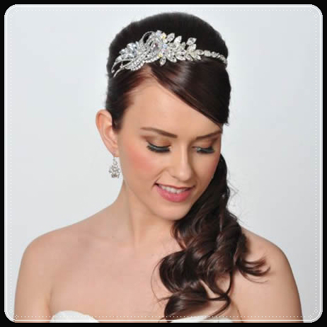 Princess Bridal Hairstyles With the Crown Jewels