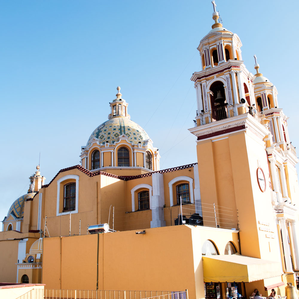 Our Lady of Remedies Church Cholula