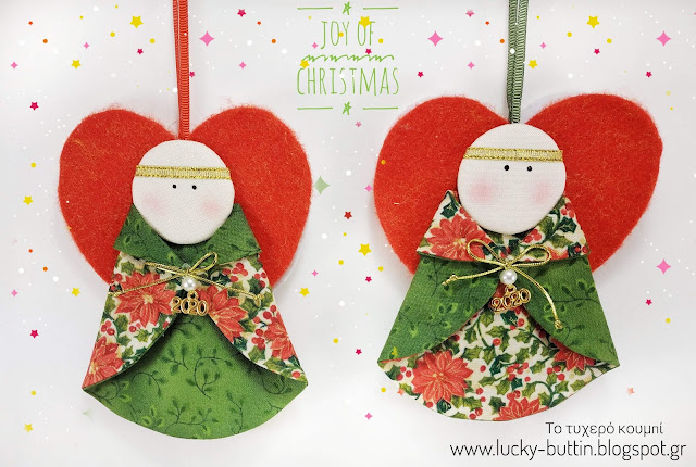 """Little Christmas angel"" Patchwork"