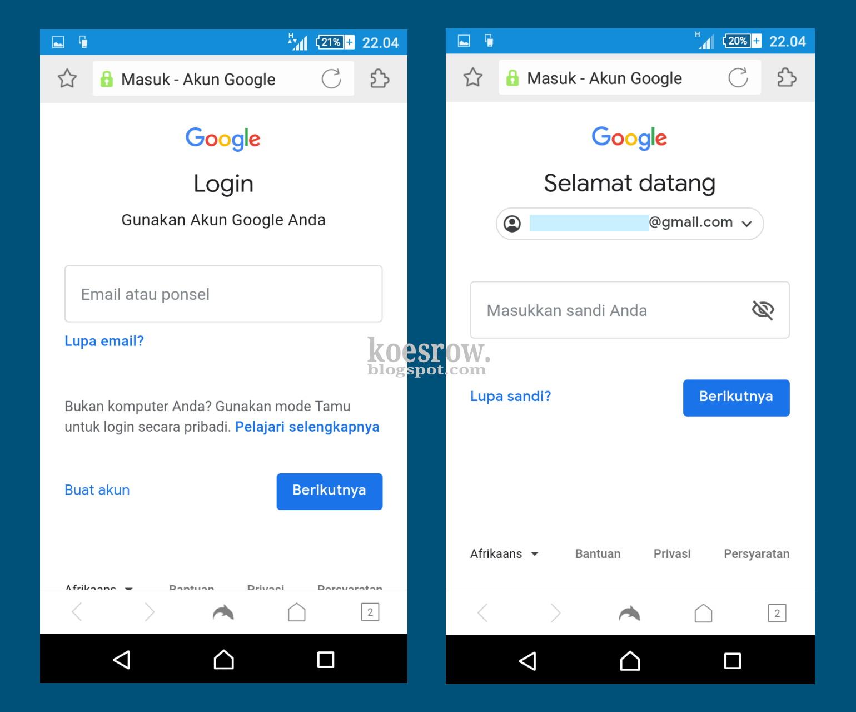 cara menghapus akun google bebas ribet