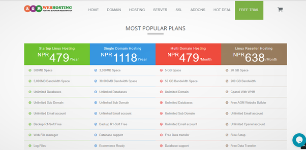 AGMWebHosting Review : Nepal's Best Web Hosting Company 1