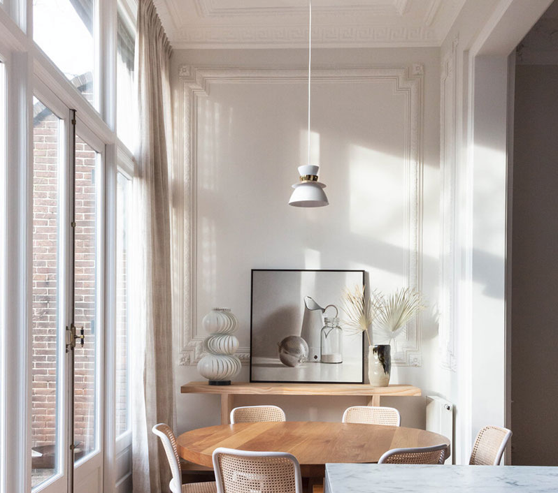 Stylish design of a neo-renaissance townhouse in Hague, The Netherlands