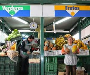 plaza de mercado Bogotá