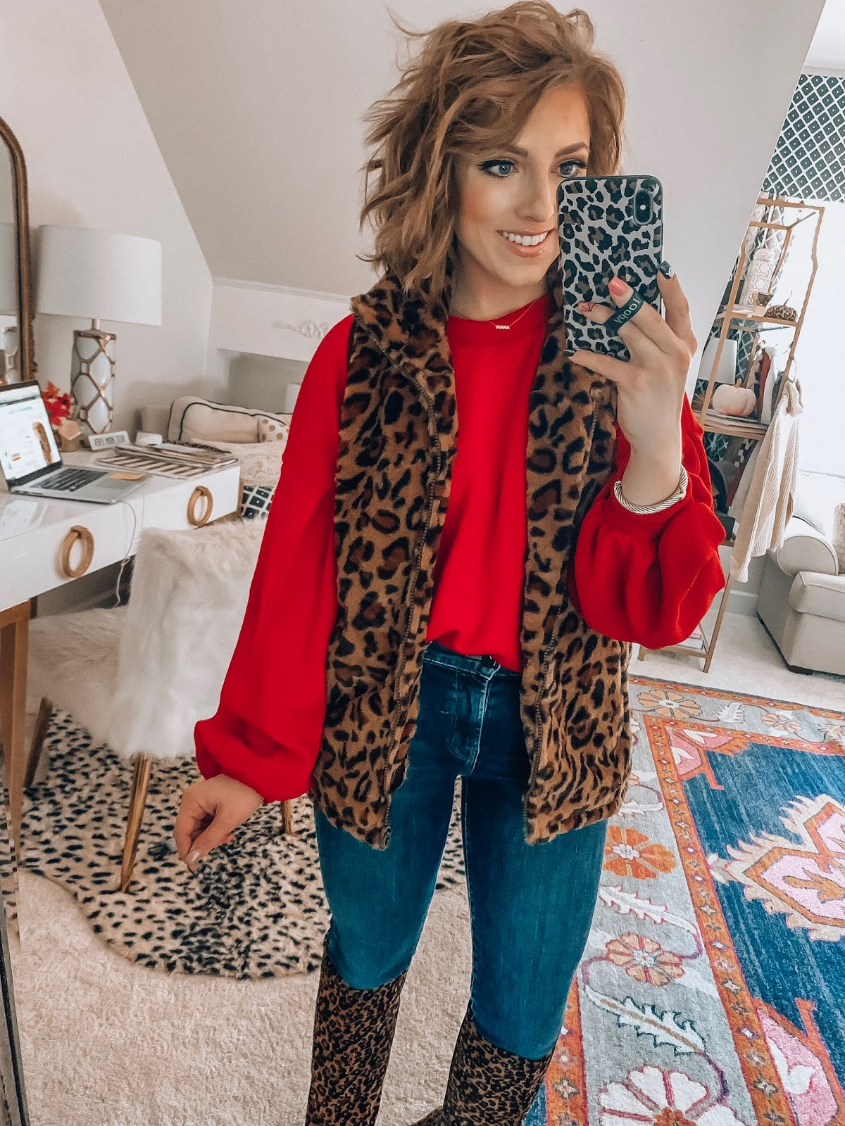 Recent Amazon Finds - Sweaters, Skirt, Vest, Kid's Finds and a Great Gift Idea! - Something Delightful Blog #amazonfashion #affordablestyle #fallstyle #holidaystyle