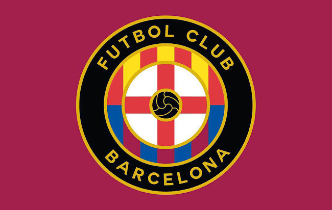 three fc barcelona concept logos by mbroidered footy headlines footy headlines